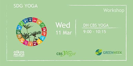 Green Week: SDG Yoga
