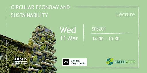Green Week: Circular Economy