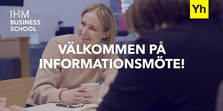 Informationsmöte IHM Kalmar biljetter