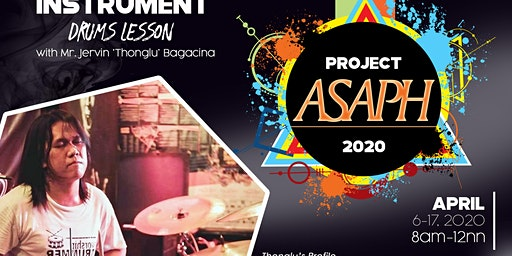 PROJECT ASAPH-Drum Lessons