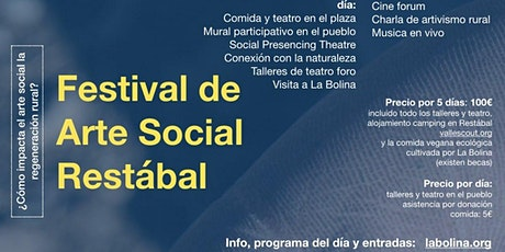 Festival de Arte Social Restábal  entradas
