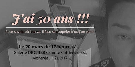Le Demi siècle de Nath Rochefort ! billets