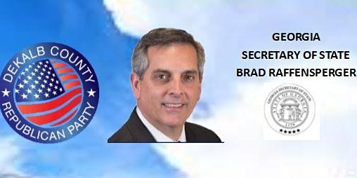 DeKalb GOP Breakfast with Georgia Secretary of State Brad Raffensperger