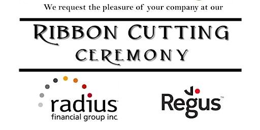 Ribbon Cutting Regus/Radius Financial