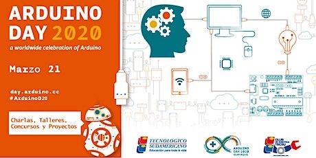 Arduino Day Guayaquil 2020 entradas