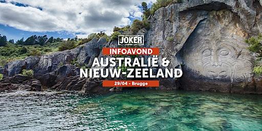Infoavond over Australië/Nieuw-Zeeland  in Brugge  - individuele rondreizen