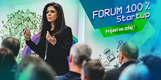 Forum 100 % Startup 2020