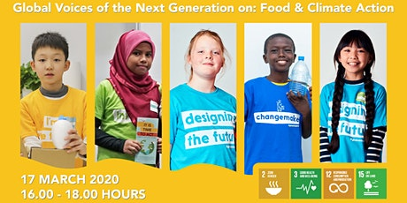 Report launch:Global Voices of the Next Generation on Food & Climate Action tickets