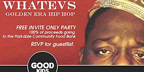 a SECRET 90s Hiphop & Rnb Speakeasy tickets
