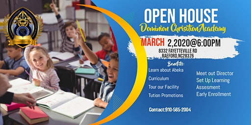 Dominion Christian Academy Open House
