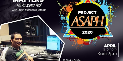 PROJECT ASAPH-The Sound Matters