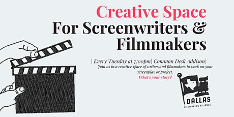 Creative Space for Screenwriters & Filmmakers tickets