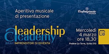 Leadership Academy - Mercoledì 4 marzo 2020 a Schio biglietti