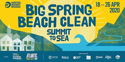 Easter Beach Clean + Sun Print Workshop – Porthmeor Beach