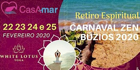 Retiro Espiritual CarnaLUZ, Búzios 2020 ingressos