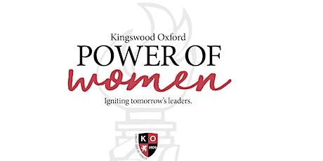 Kingswood Oxford Power of Women tickets
