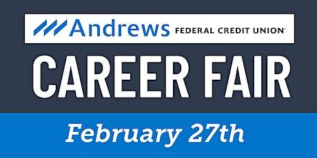 Andrews Federal Credit Union Job Fair tickets