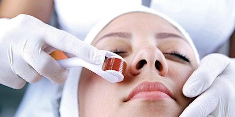 Microagulhamento e associações cosméticas ingressos