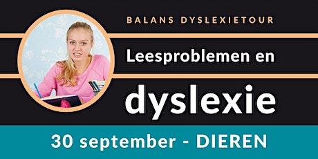 Balans Dyslexietour - Dieren tickets