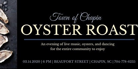 Town of Chapin Oyster Roast tickets