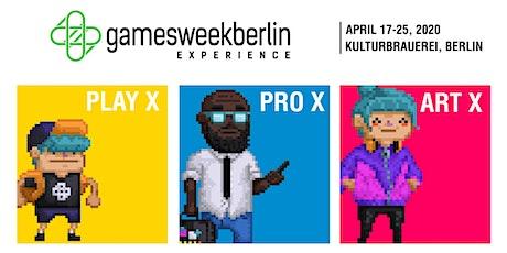 Press/media - gamesweekberlin 2020 Tickets