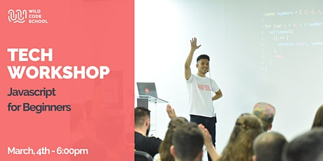 Tech Workshop - Introduction to Javascript Tickets