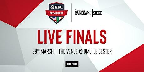 ESL Rainbow Six Siege Premiership Spring Finals tickets