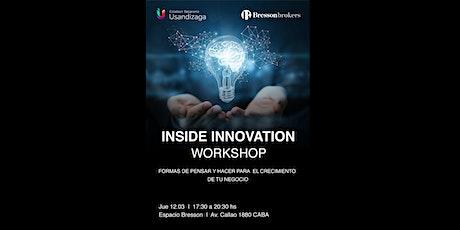 Inside Innovation: Cómo innovar dentro de tu empresa entradas