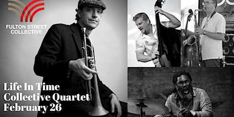 Darren Johnston with his Life In Time - Collective Quartet tickets