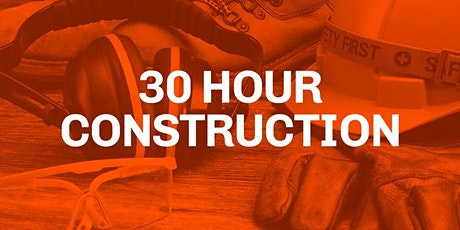 OSHA 30 HR training  for Construction tickets