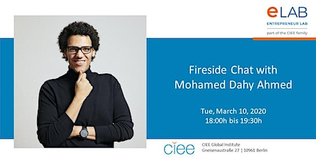 Fireside Chat with Mohamed Dahy Ahmed tickets