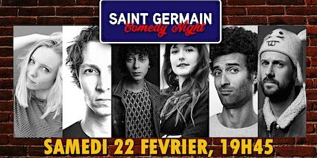 Saint Germain Comedy du Samedi billets