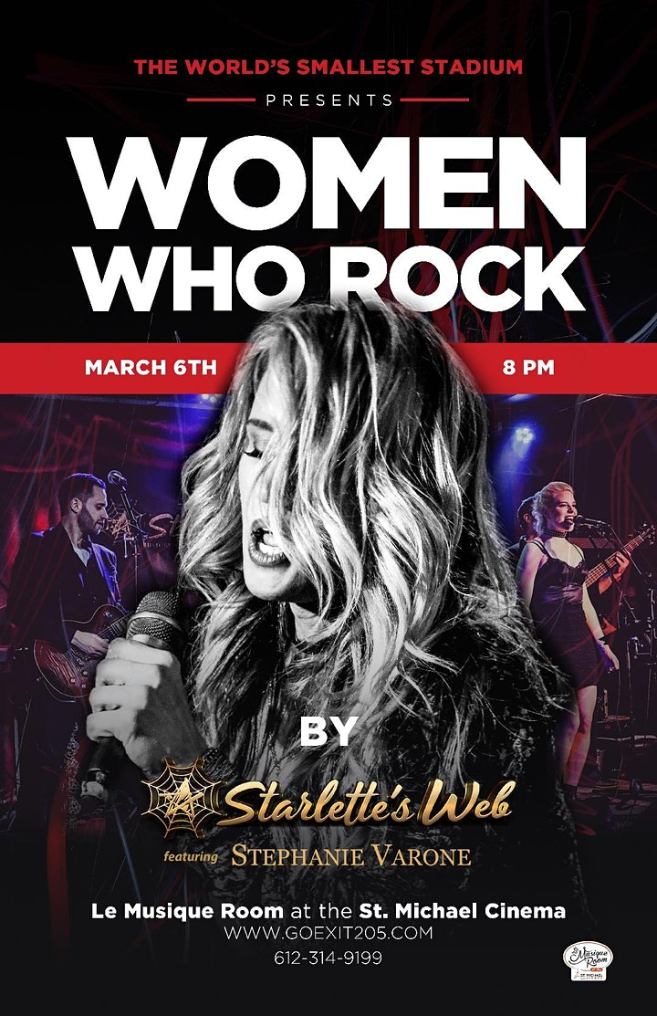 Women Who ROCK! by Starlette's Web featuring Stephanie Varone image