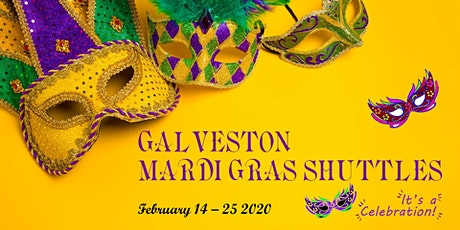 Galveston Mardi Gras Shuttle tickets