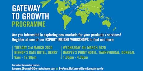 Enterprise Week: Export Insights tickets