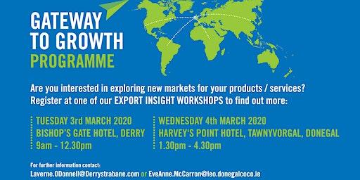 Enterprise Week: Export Insights