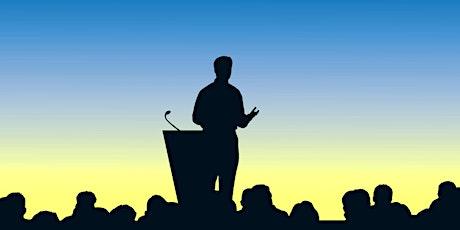 Momento di approfondimento sul public speaking biglietti