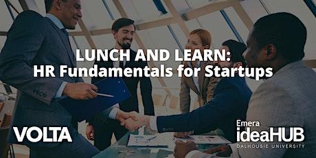 HR Fundamentals for Startups tickets