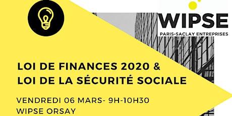 Loi de finances 2020  et  loi de la sécurité sociale tickets
