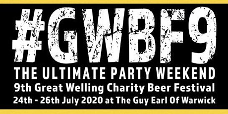 Great Welling Charity Beer & Music Festival - #GWBF9 tickets