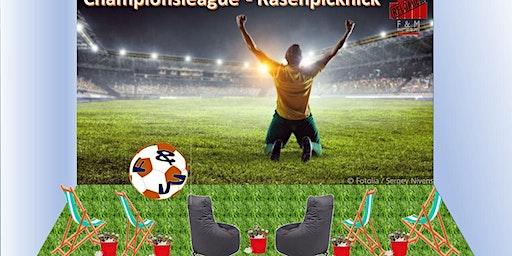 Rasenpicknick mit Championsleague live