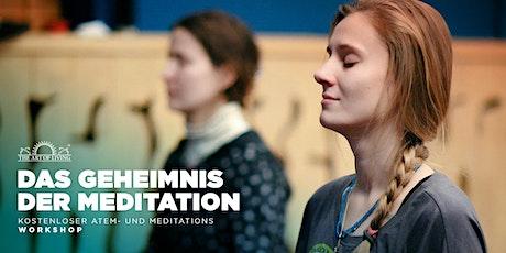 Entdecke das Geheimnis der Meditation - Kostenloser Einführungsworkshop in Tübingen Tickets