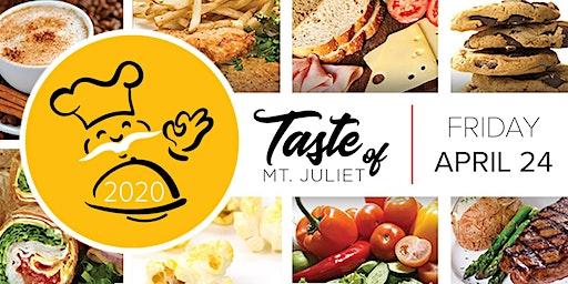 Taste of Mt. Juliet 2020