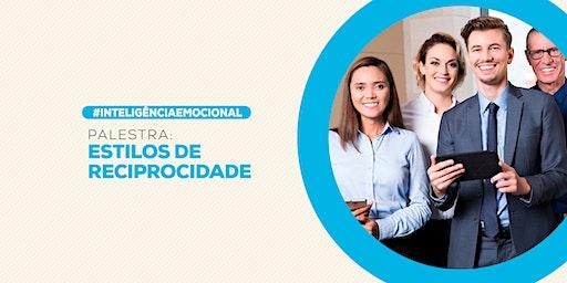 [BRASILIA/DF] PALESTRA EXCLUSIVA - ESTILO DE RECIPROCIDADE 23/03/2020