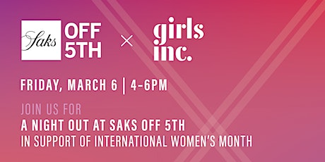 A Night Out at Saks Off 5th in support of International Women's Month tickets