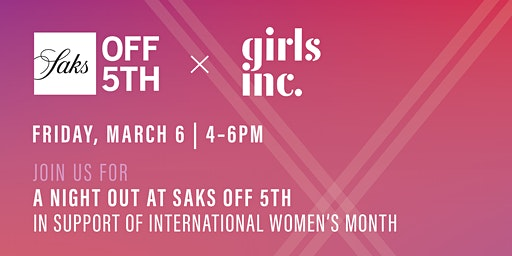 A Night Out at Saks Off 5th in support of International Women's Month
