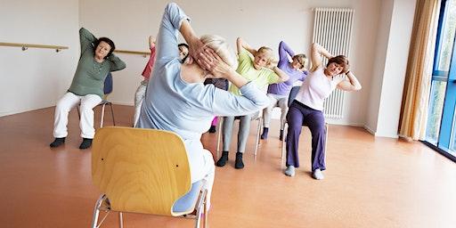 Go Red For Women Cardiac Chair Yoga