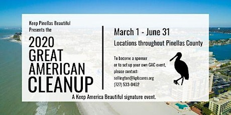 2020 Great American Cleanup - Gandy North Cleanup with American Advertising Federation tickets