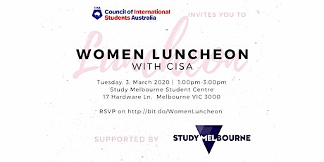 Women Luncheon with CISA tickets