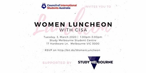 Women Luncheon with CISA